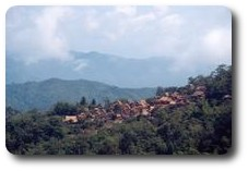 Village near Phongsali, Laos