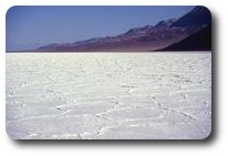 Salt flats at Badwater, Death Valley, California, USA