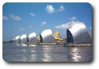 Thames Barrier, London, England