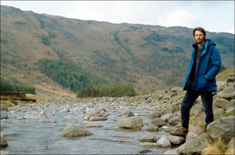 Me beside Grains Gill, Lake District, England