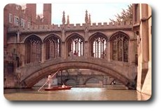 Bridge of Sighs, St. John's College, Cambridge, England