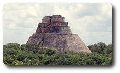 Sorcerer's Temple, Uxmal, Mexico