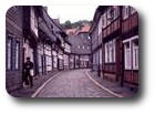 Half-timbered houses, Goslar, Germany